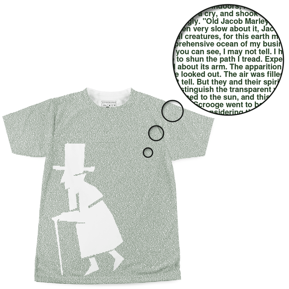 Litographs | A Christmas Carol | Book T-Shirt