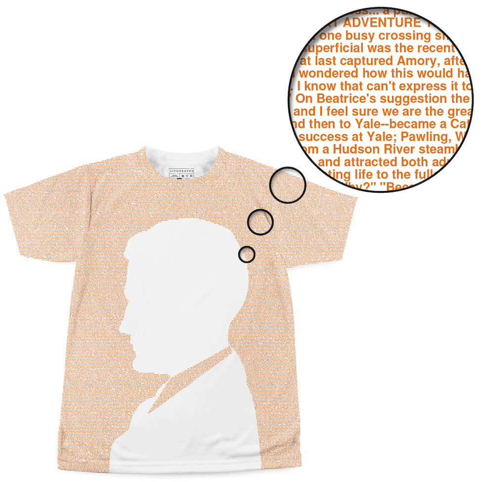 0ef38d804 Litographs | This Side of Paradise | Book T-Shirt
