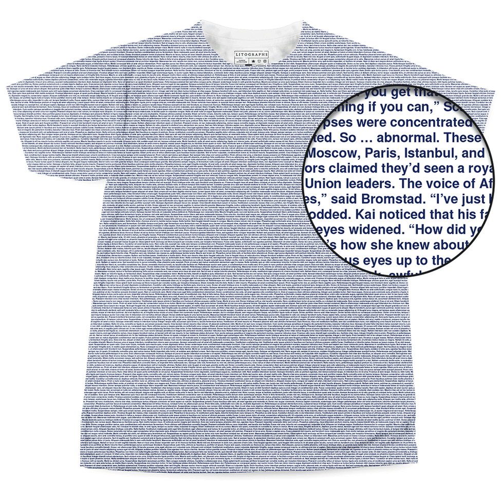273e247e Litographs | Scarlet | Book T-Shirt