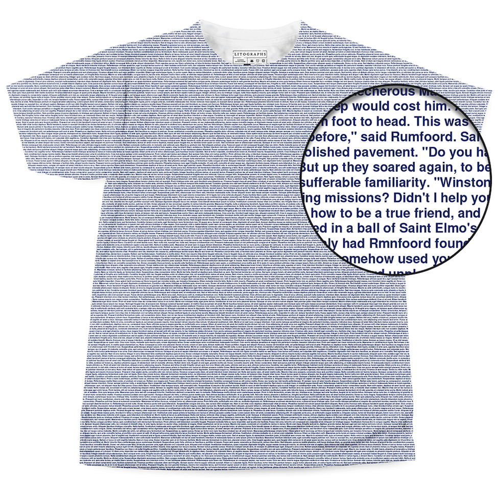 f9df69d4 Litographs | The Sirens of Titan | Book T-Shirt