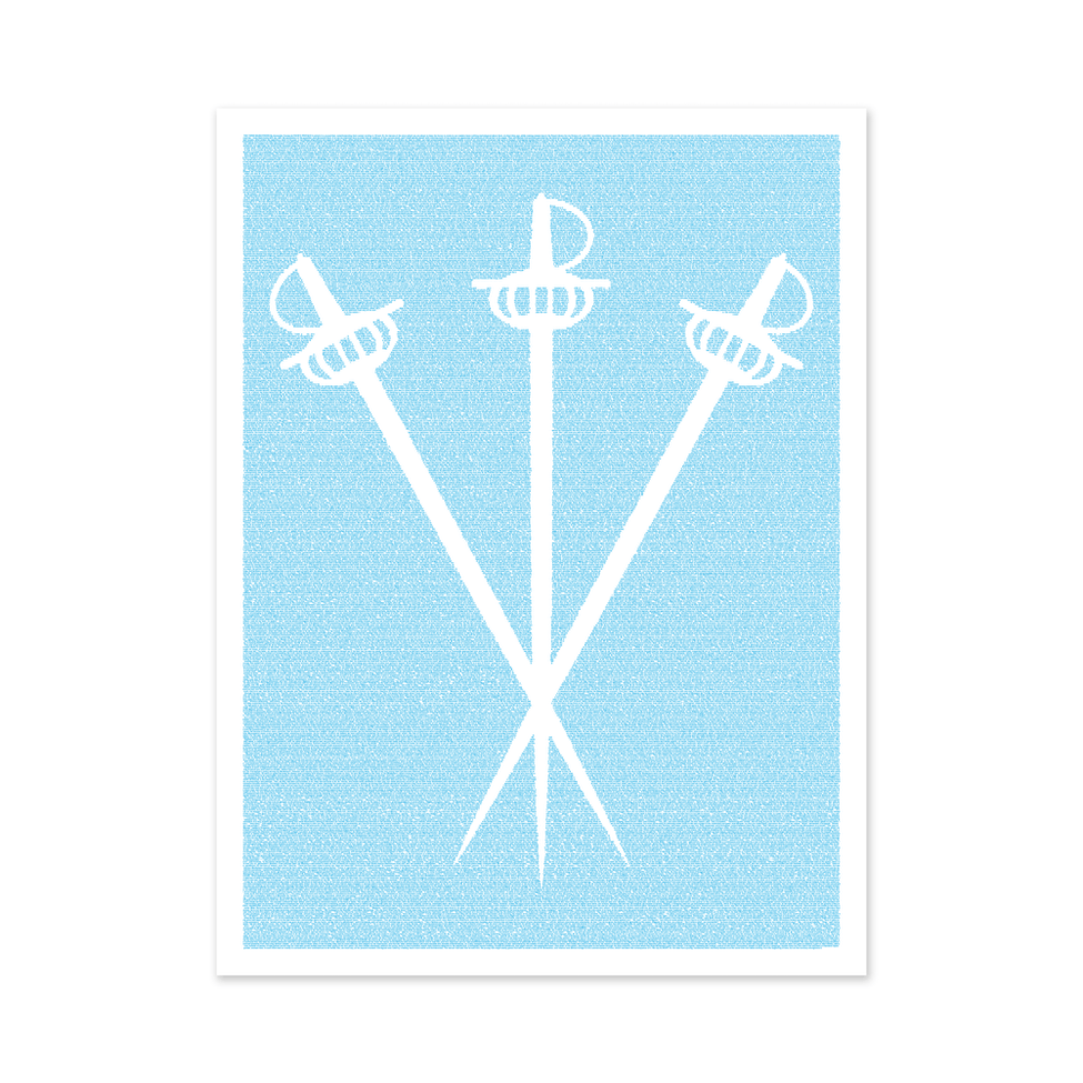 Litographs The Three Musketeers Book Poster